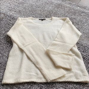 Silk and cashmere sweater from James Perse
